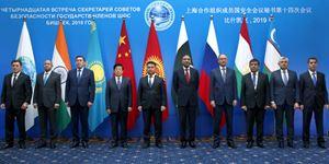 赵克志出席上合组织成员国安全会议秘书第十四次会议
